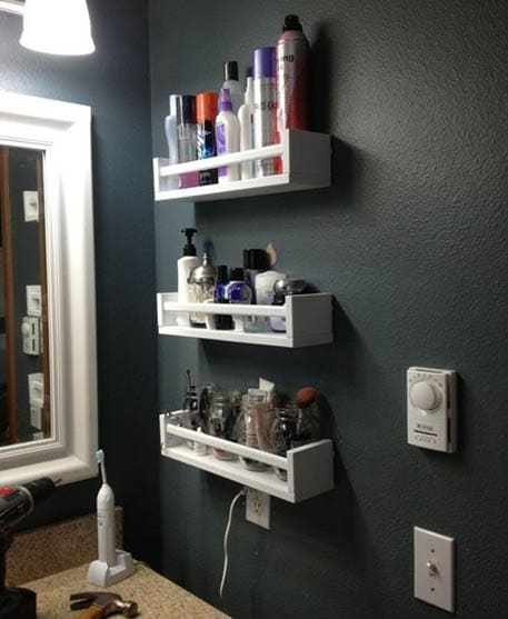 small bathroom storage ideas on pinterest bathroom