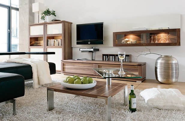 Multipurpose furniture used with small living room decor ideas