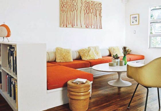 Furniture with multiple use and storage in small living room decor ideas
