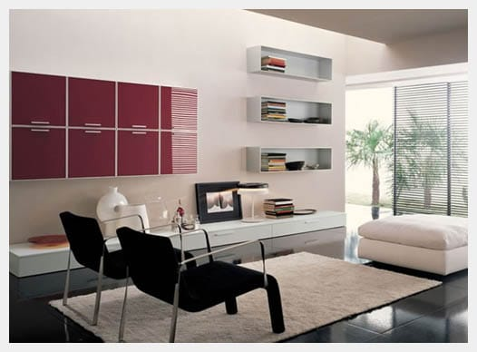 Floating sofa and settees as living room ideas