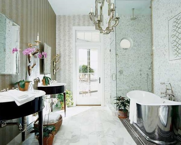 8 vintage style bathroom design ideas for that retro feel for Bathroom fashion