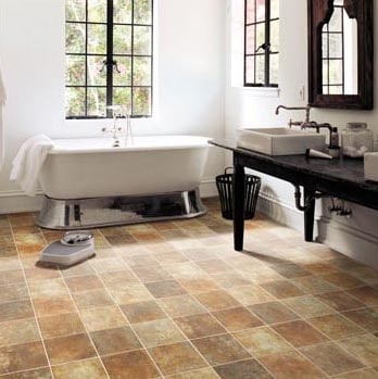 4 bathroom flooring ideas that are practical and nice for Practical flooring ideas