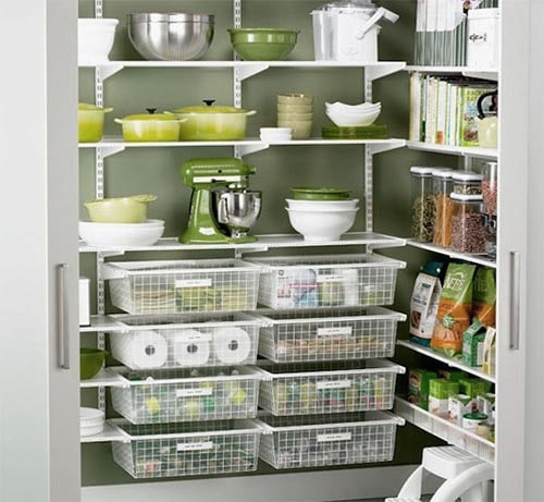 Kitchen Organization Ideas For Small Spaces: 10 Tips For Small Kitchen Storage: Save More Space