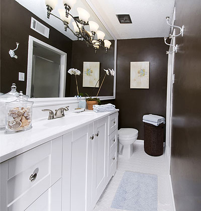 4 easy bathroom makeover ideas with picture just diy decor for Bathroom makeover ideas