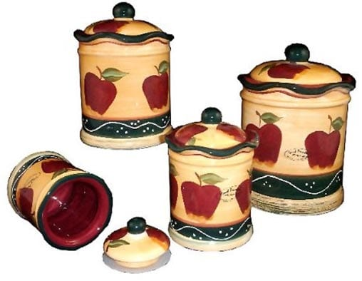 Apple-Canister-Set-Country