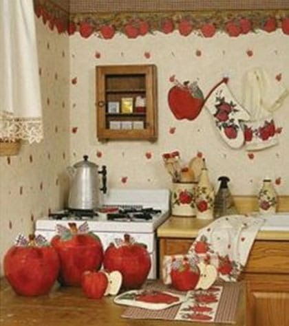 must love apples unique kitchen d cor by theme for a