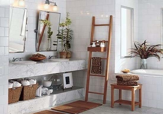 10 zen interior d cor ideas for bathroom just diy decor for Zen interior decorating ideas