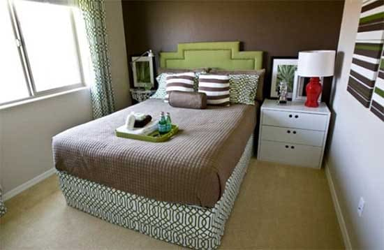 7 cool interior decor ideas for small bedrooms just diy 17140 | small bedroom decoration idea