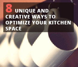 optimize your kitchen space