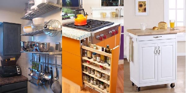 22 Jaw Dropping Small Kitchen Designs: 5 Jaw Dropping Storage Ideas For Small Apartments