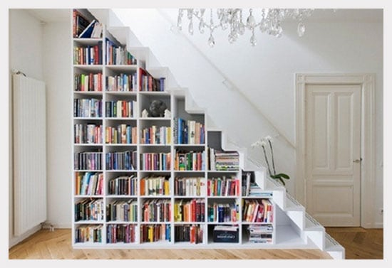 Under Stairs Bookcase Bookcase Stairs Diy 10 Under Stair Storage