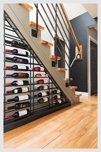 10 under stair storage ideas for your home just diy decor. Black Bedroom Furniture Sets. Home Design Ideas