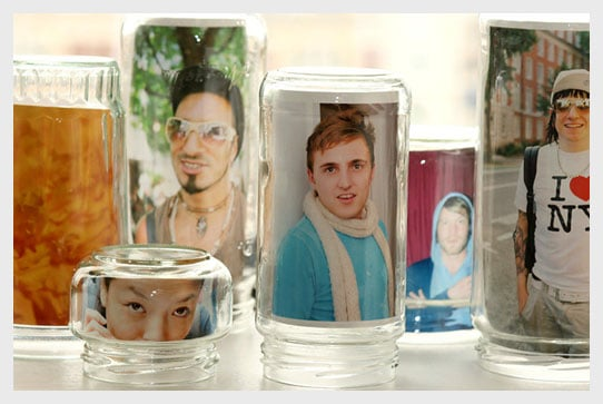 Photo ideas for glass jars
