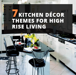 Kitchen Decor Themes for high rise living