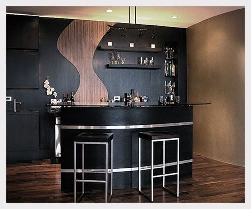 7 home bar decor ideas to add fun to your lifestyle just. Black Bedroom Furniture Sets. Home Design Ideas