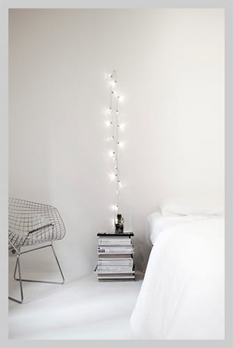 String Lights For Home Decor : 10 Home Decor Ideas with String Lights Just DIY Decor