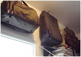 Ideas for luggage storage or suitcase