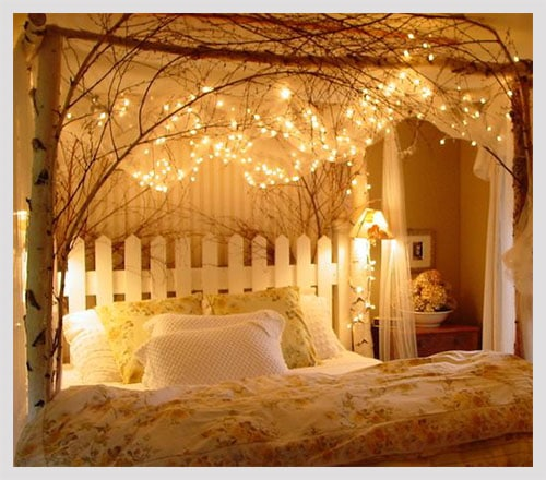 10 relaxing and romantic bedroom decorating ideas for new Romantic bed designs