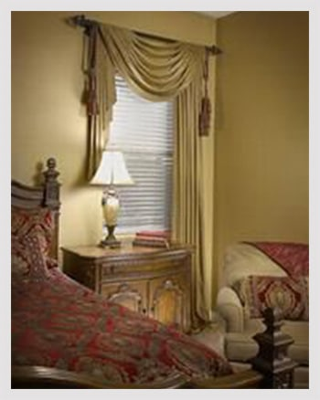 Romantic sheer curtains for bedroom
