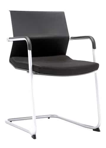 Study chair in black