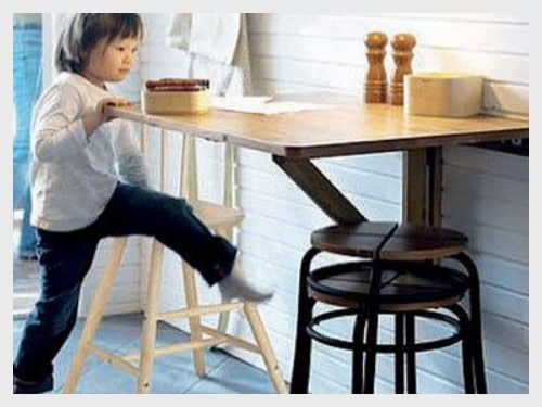 creative furniture ideas for small spaces in kitchen
