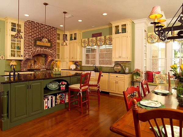 7 Recommended Kitchen Decorating Themes For Perfecting: 7 Rustic Country Kitchen Decor Ideas