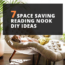 7 Space Saving Reading Nook DIY Ideas