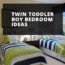 Twin Toddler Boy Bedroom Ideas