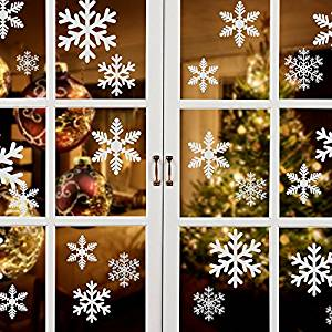 Snowflakes Decorations for Christmas in windows