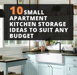 10 Small Apartment Kitchen Storage Ideas To Suit Any Budget