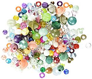 Cousin 31673 Mixed Plastic Beads