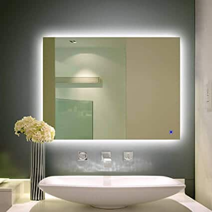 H&A Dimmable LED Backlit for vanity mirror ideas