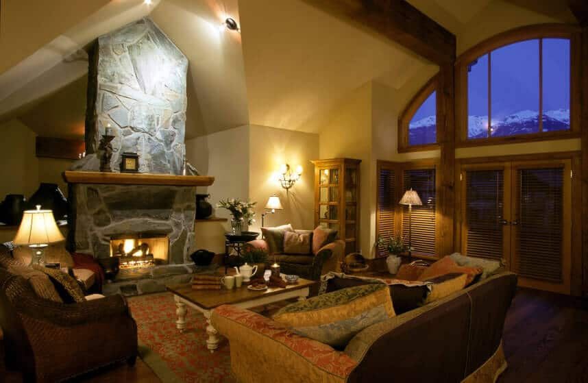 Fireplace ideas for a small living room