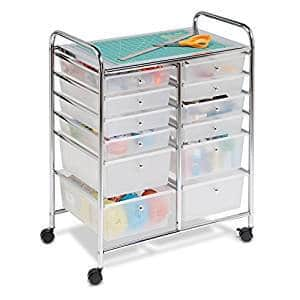 Honey Can Do Rolling Storage Cart and Organizer