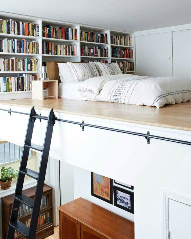 Upstairs loft decorating ideas in light colors