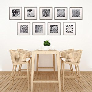 Ideas for displaying photos on wall