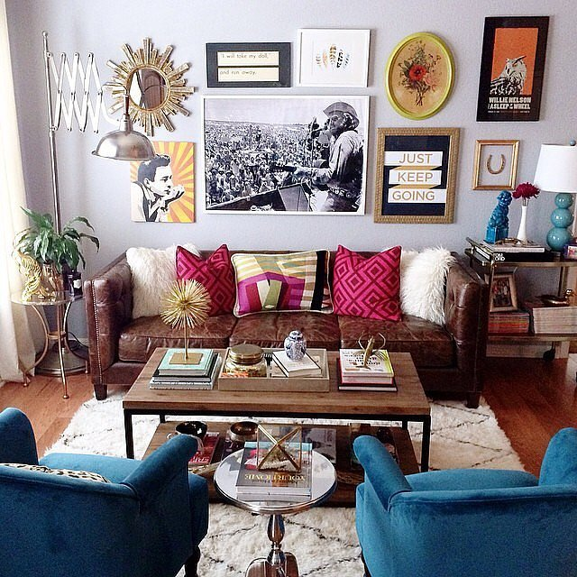 13 Bohemian Decorating Ideas For Living Room With 50 Pictures