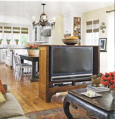 mount the TV for the sitting area