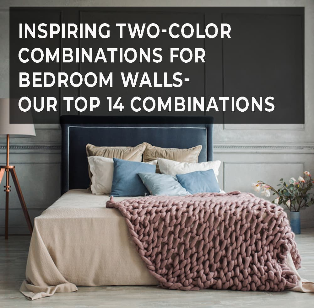 Two-Color Combinations for Bedroom Walls
