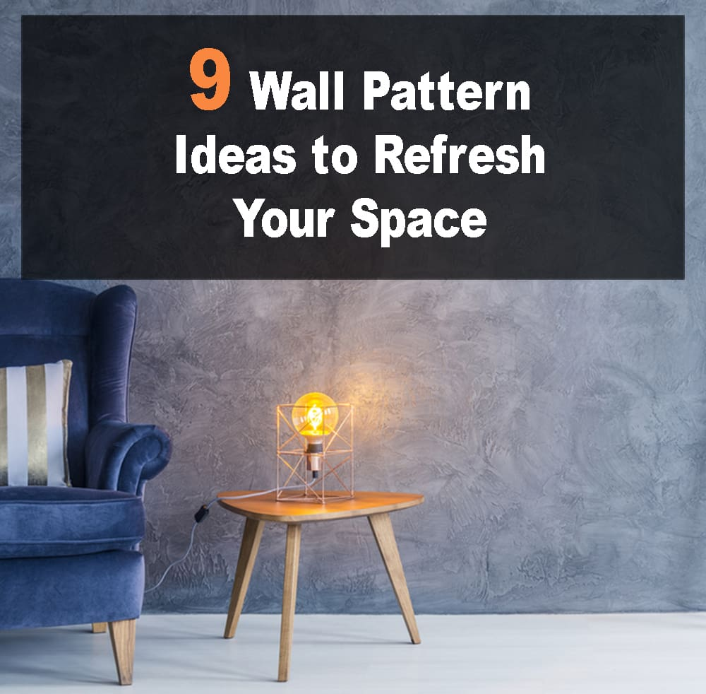 Wall Pattern Ideas to Refresh Your Space
