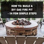 How To: Build a DIY Gas Fire Pit – In Few Simple Steps