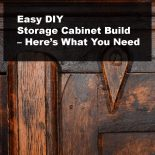 Easy DIY Storage Cabinet Build – Here's What You Need