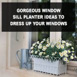 Gorgeous Window Sill Planter Ideas to Dress Up Your Windows